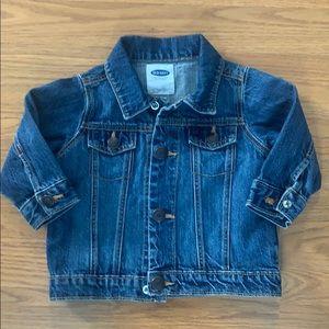 Old Navy Kids Blue Jean Denim Jacket 6-12 months